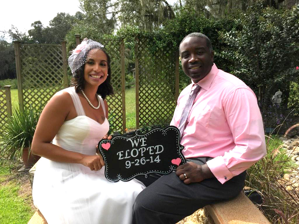 Secret Garden wedding in Longwood, Florida