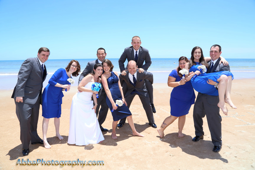 Daytona Beach Hilton wedding